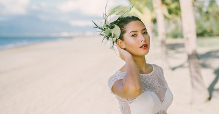 Hair Tips for a Fiji Wedding