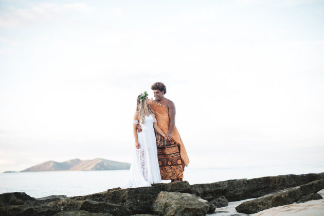 Junior & Candis — Mana Island Fiji Wedding